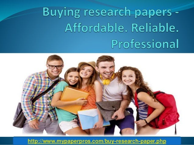 Affordable research papers