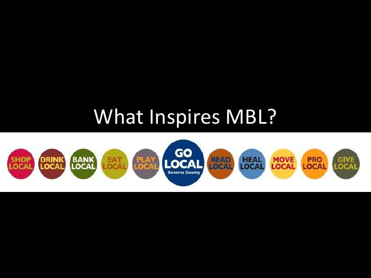 What Inspires MBL?<br />