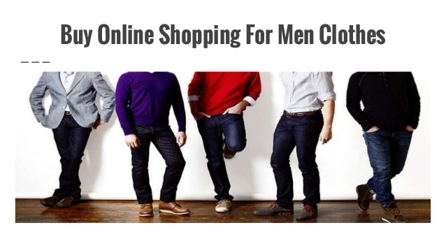 Mens clothes shopping online
