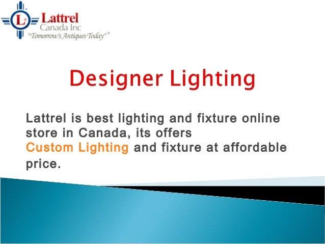 Buy online light fixtures canada for Best online lighting store