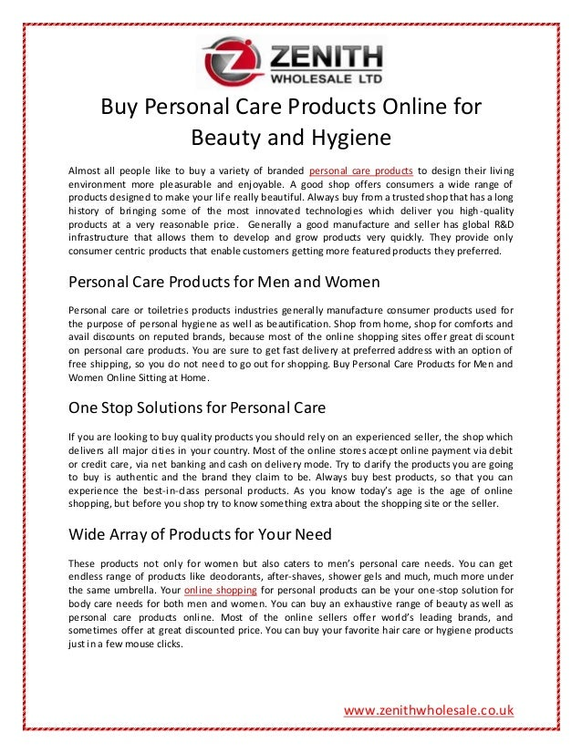 Buy Personal Care Products Online for Beauty and Hygiene