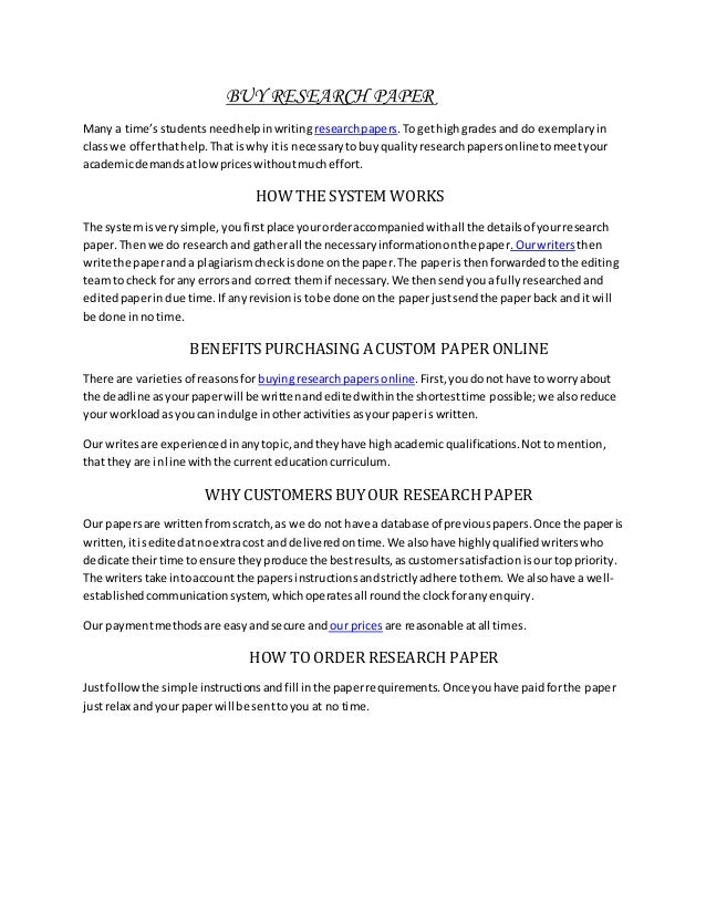 Purchase Custom Research Paper  Get Custom Research Paper From The  Purchase Custom Research Paper Science And Technology Essay Topics also Best English Essays  Cheap Writers