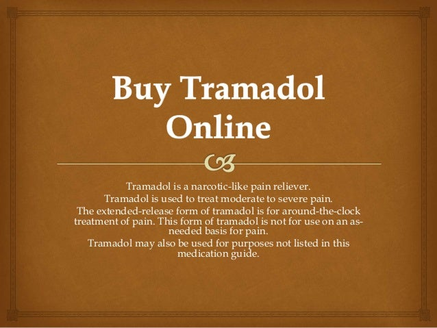 Where can you order tramadol online