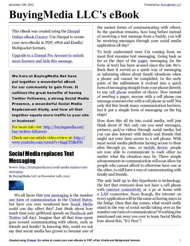 November 19th, 2012                                                                                       Published by: Bu...