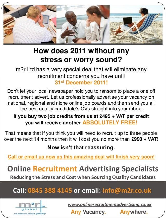 Save money on recruitment advertising!
