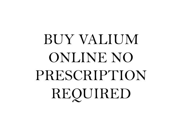 no presciption valium