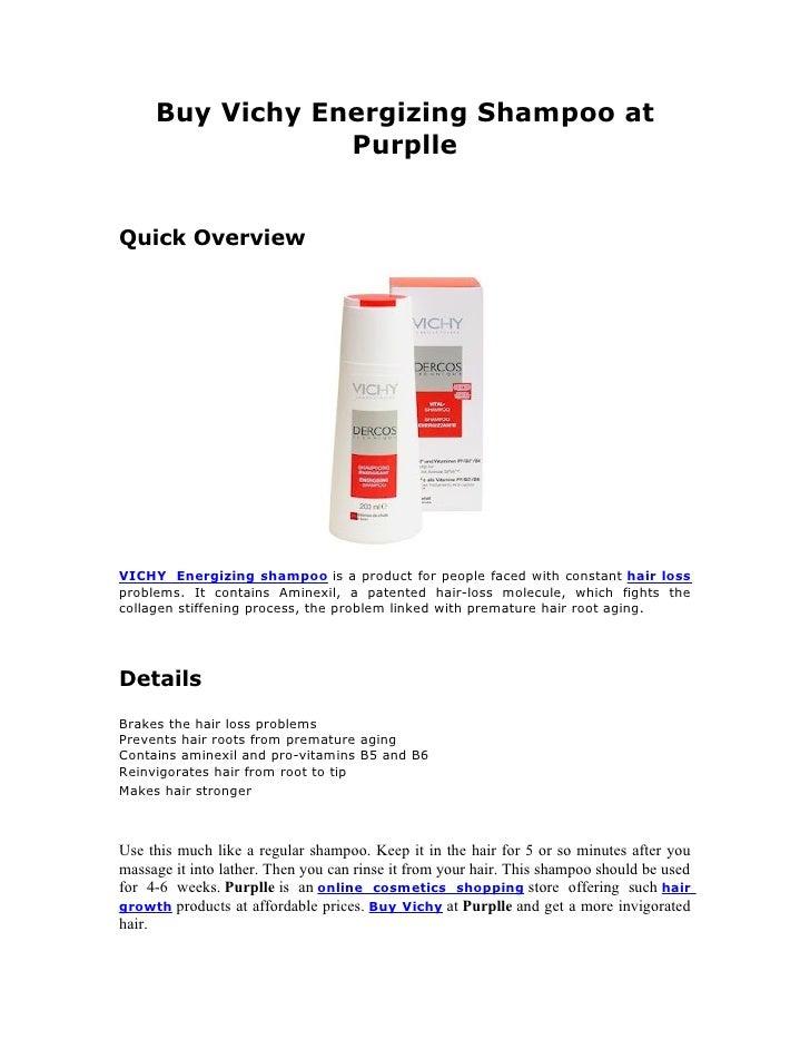 Buy vichy energizing shampoo at purplle