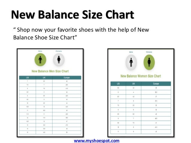 new balance sizing