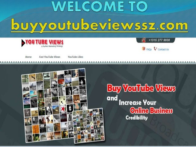 Purchase fast youtube views
