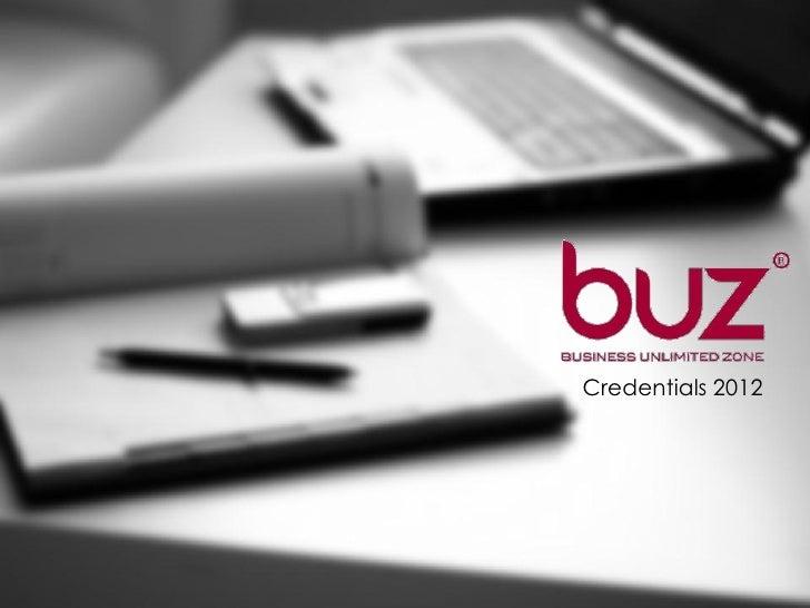 Buz Credentials