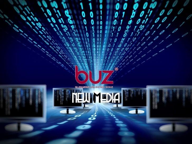 Buz New Media Credentials 2012