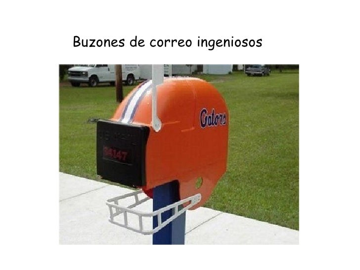 buzones de correo ingeniosos
