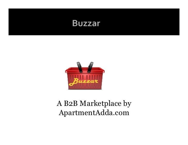A B2B Marketplace by ApartmentAdda.com