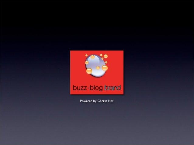 Buzz-blog Brand