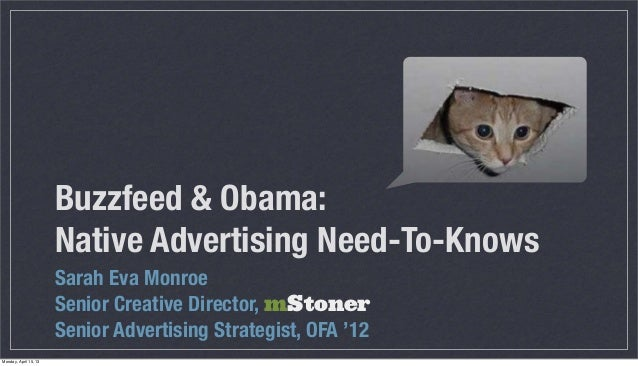 Native Advertising Need-To-Knows