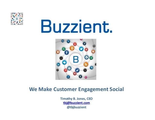 Buzzient social crm for telecoms