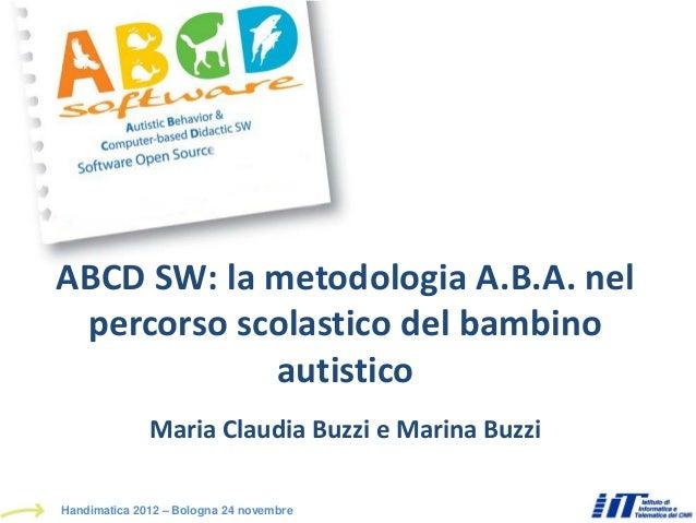 ABCD SW - Handimatica 2012