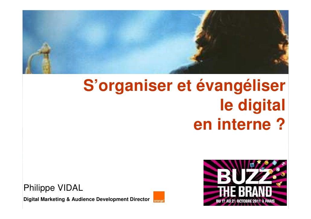 S'organiser et évangéliser                                         le digital                                     en inter...