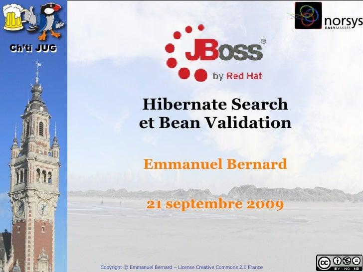 Hibernate Search & Bean Validation