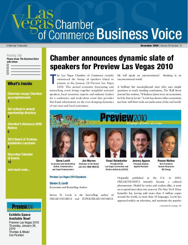 Business Voice Routing Slip Please share The Business Voice with others A Member Publication  December 2009 | Volume 29 N...