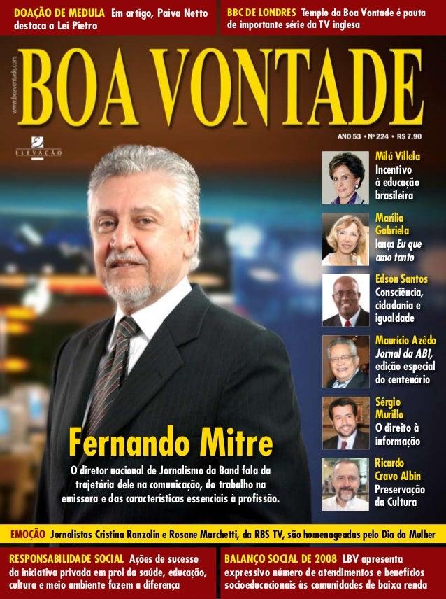 Revista Boa Vontade, edição 224