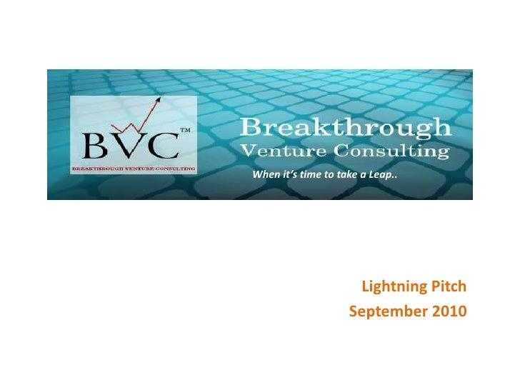 Bvc corporate presentation sep 2010 v2.0