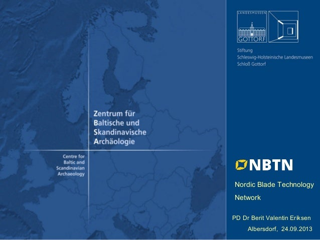 Nordic Blade Technology Network - OpenArch Conference, Albersdorf 2013