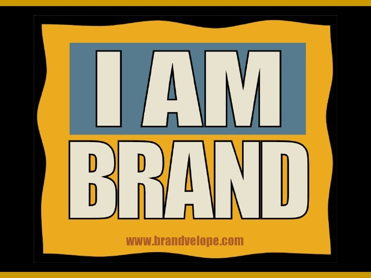 I AM BRAND - branding basics for individuals