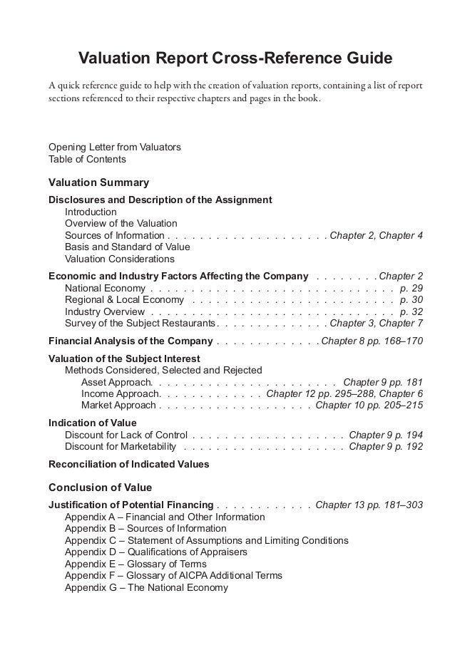 company valuation report The event the assignment results in a comprehensive written business valuation report american society of appraisers asa business valuation standards asa.