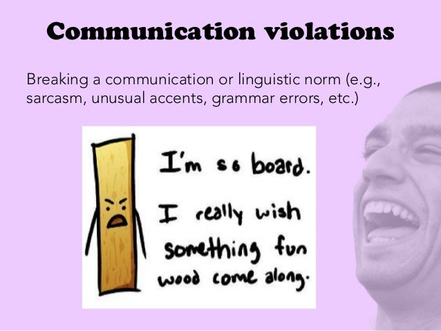 What is a linguistic norm?