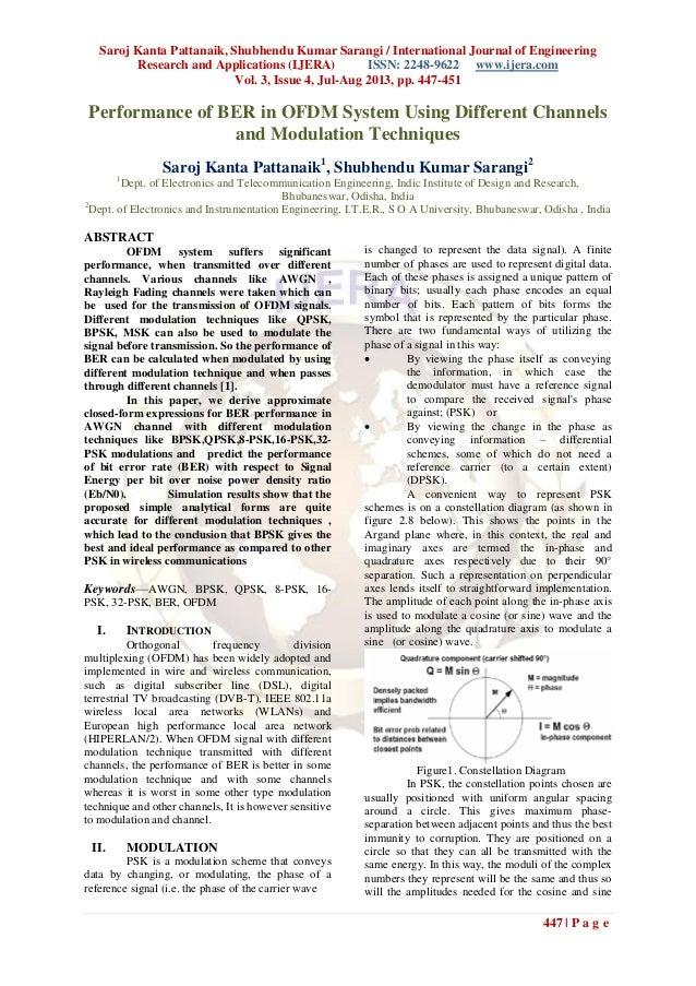 Saroj Kanta Pattanaik, Shubhendu Kumar Sarangi / International Journal of Engineering Research and Applications (IJERA) IS...