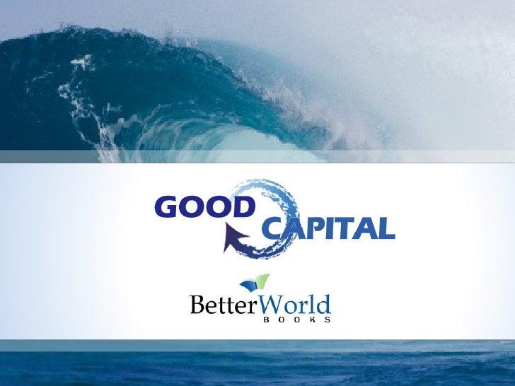 Better World Books Social Impact