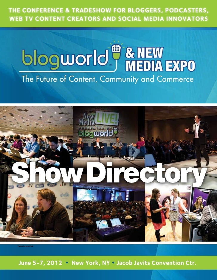 BlogWorld Show Directory