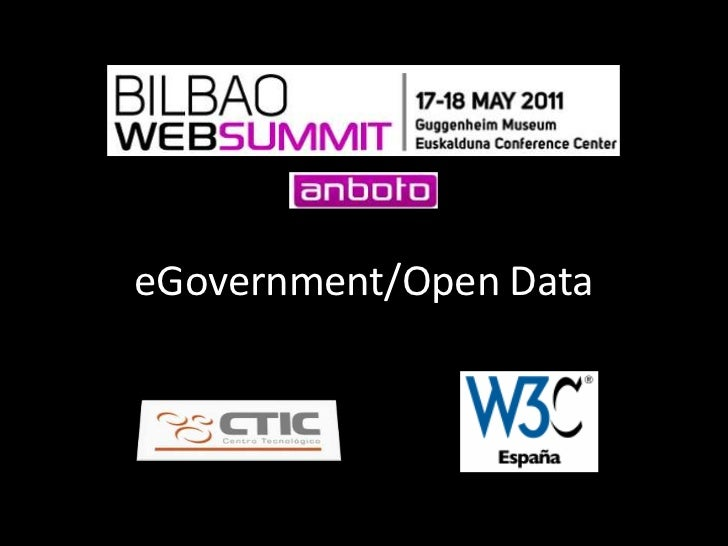 eGovernment/Open Data<br />