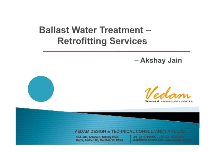 BWTP - Engineering Support (Vedam)