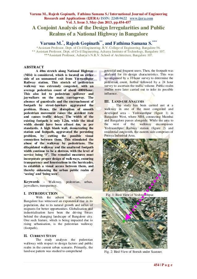 Varuna M., Rajesh Gopinath, Fathima Samana S./ International Journal of EngineeringResearch and Applications (IJERA) ISSN:...