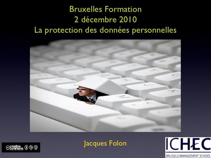 Protection de la vie privée en Belgique