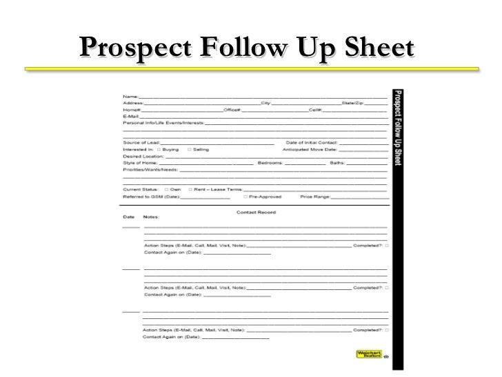 follow up form template
