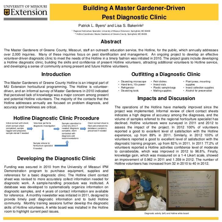 Building A Master Gardener-Driven                                                                                         ...