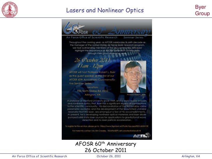 Byer                                      Lasers and Nonlinear Optics                                                     ...
