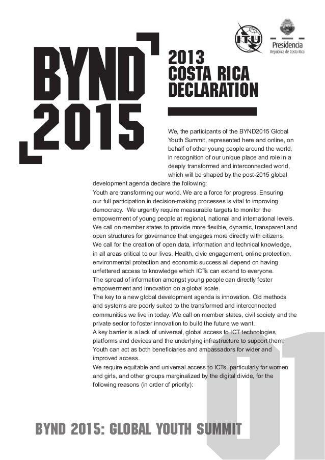 Bynd2015 global-youth-declaration-en