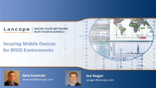 Securing Mobile Devices for BYOD Environments