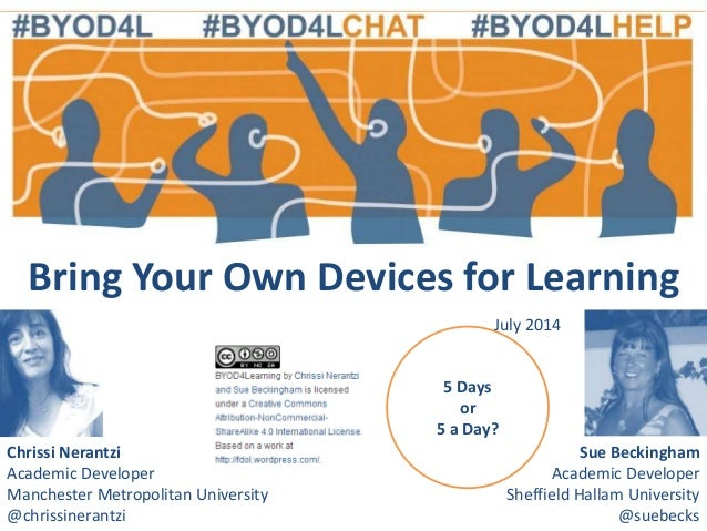 #BYOD4L July 2014 Review of the Week with Chrissi Nerantzi