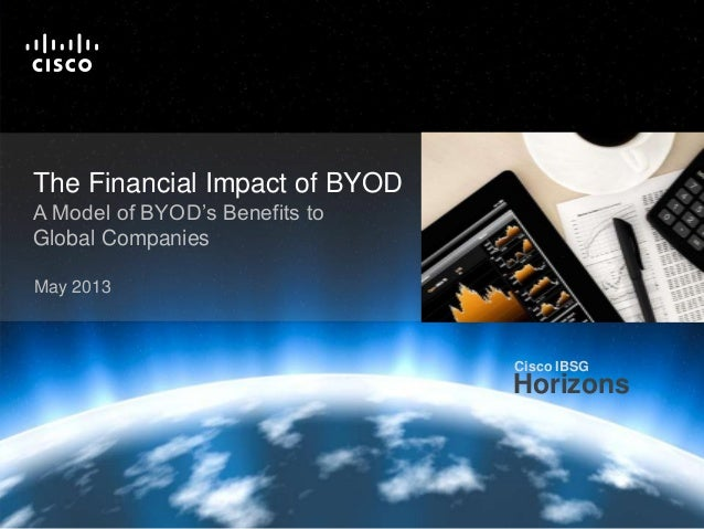 Economic Analysis: BYOD Creates Value for Global Companies