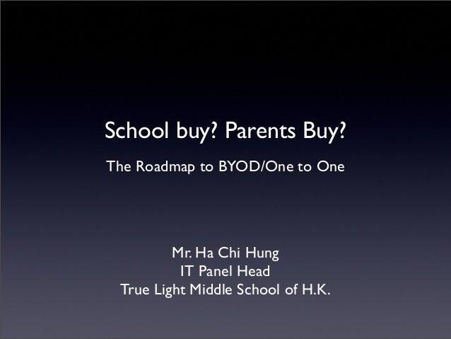 Ha Sir – School Buy or Parent Buy?
