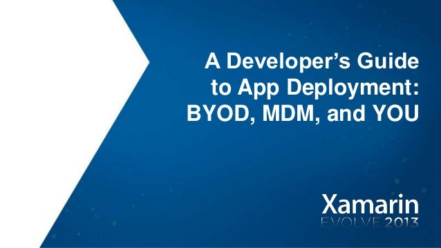 A Developer's Guide to Enterprise App Deployment, Stephanie Schatz and David Hathaway