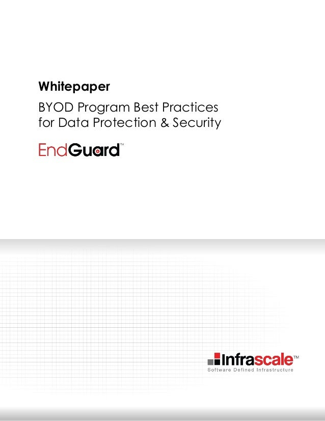 BYOD Program Best Practices for Data Protection & Security