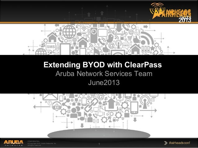 BYOD with ClearPass