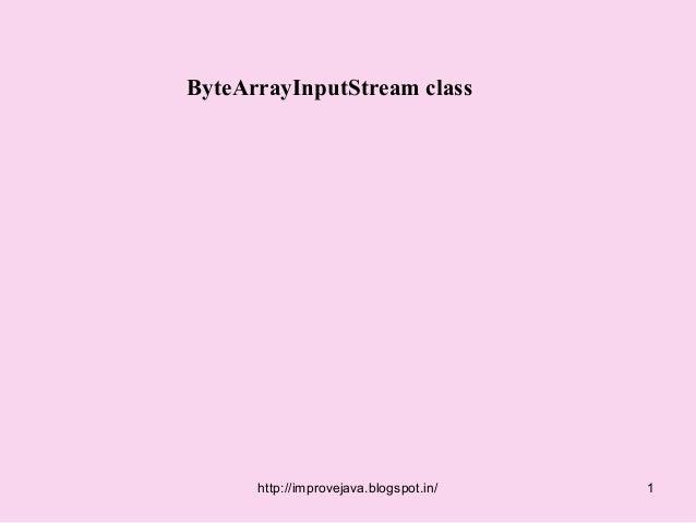 Byte arrayinputstream.50