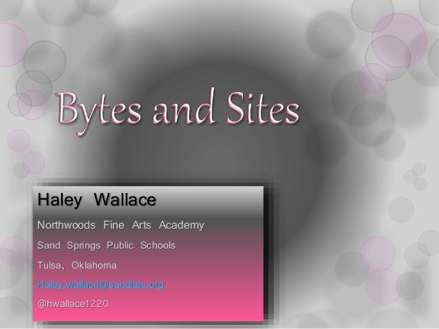 Bytes and Sites